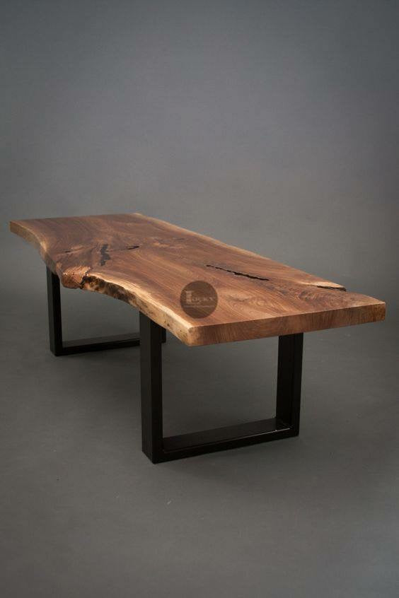 Live Edge Coffee Table  simple lucky-furniture-handicrafts.