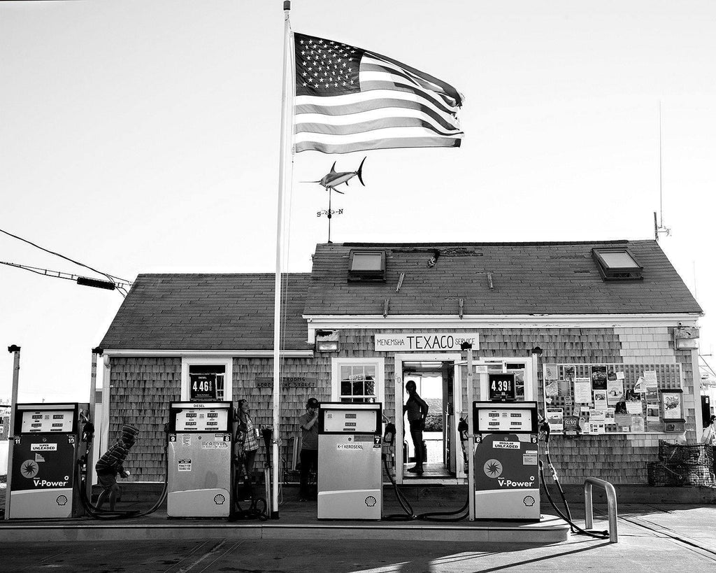 Menemsha Harbor Gas Station, Martha's Vineyard, Massachussets