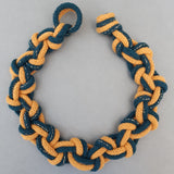 Macrame Knot Two Colour Necklace