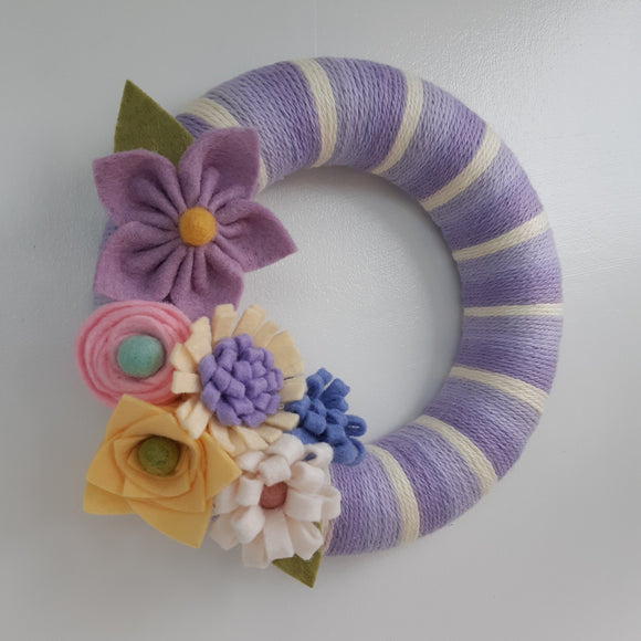 Spring Floral Wreath Online Workshop