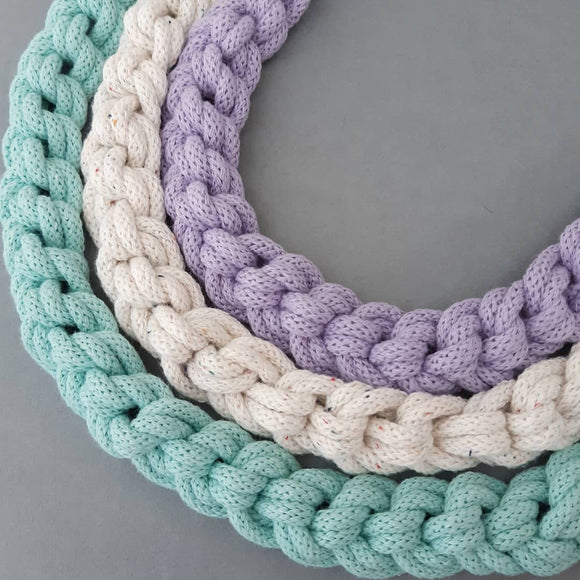 Macrame Loopy Necklace Online Workshop