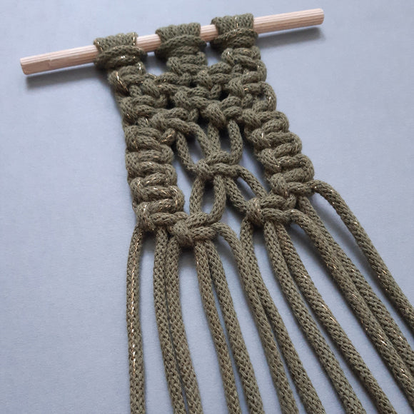 Macrame Pot Holder Online Workshop