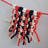 Mini Macrame Bunting Online Workshop