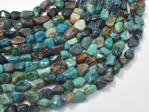 Chrysocolla pebble chips