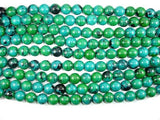 Chrysocolla, 14mm Round Beads-Ebeader