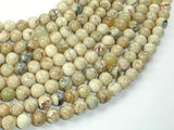 African Opal, 8mm (8.3mm) Round Beads, 15.5 Inch, Full strand-Ebeader