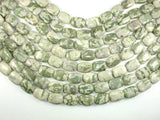 Peace Jade Beads, 13x18mm Rectangle Beads-Ebeader