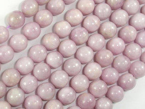 Kunzite Beads, 9mm Round Beads-Ebeader