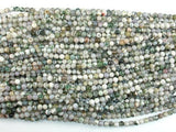 Tree Agate Beads, 4mm Round Beads-Ebeader