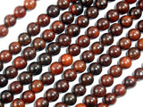 Rosewood Beads, 6mm Round Beads-Ebeader