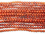 Red Sandalwood Beads, 10mm Round Beads-Ebeader