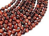 Red Tiger Eye Beads, Round, 10mm-Ebeader