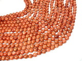 Goldstone Beads, Round, 10mm-Ebeader