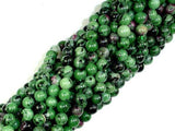 Ruby Zoisite Beads, 6mm Round Beads-Ebeader