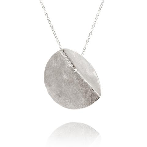 EUCALYPTUS SINGLE PENDANT - SILVER