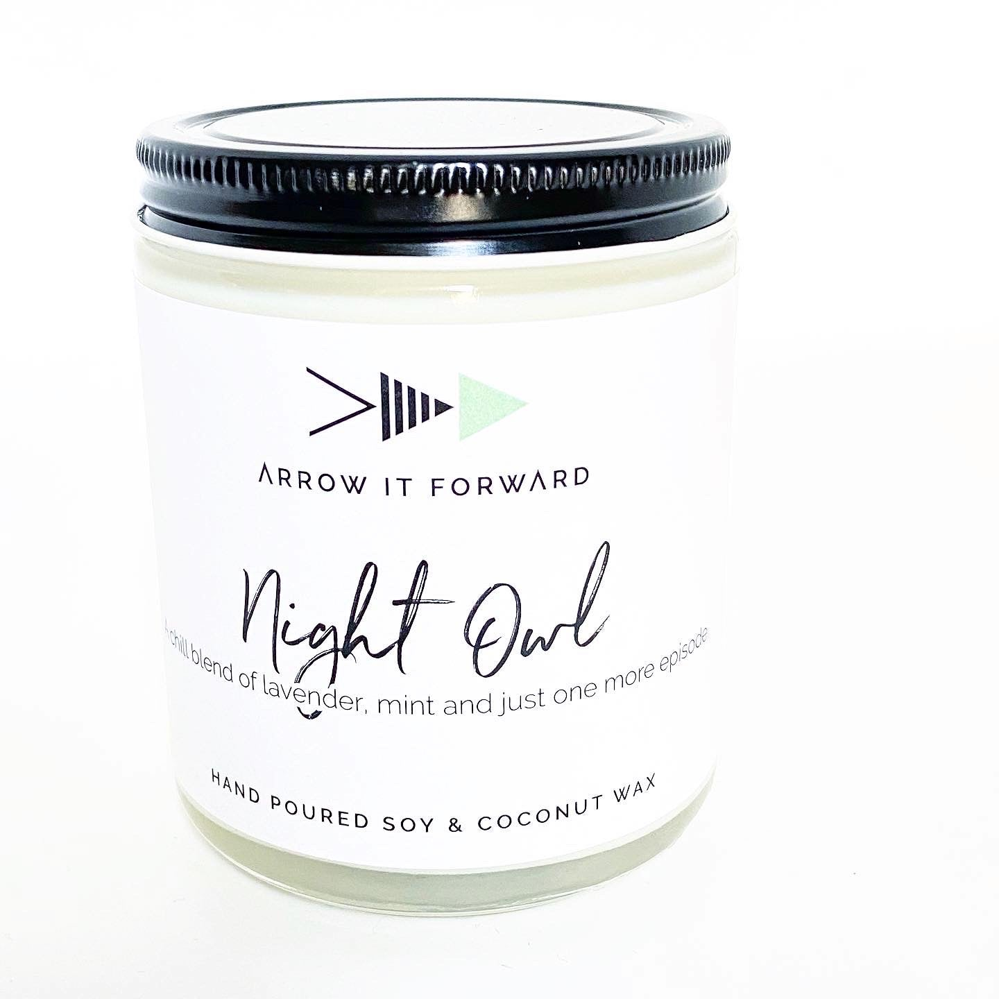 NIGHT OWL CANDLE - LAVENDER & MINT
