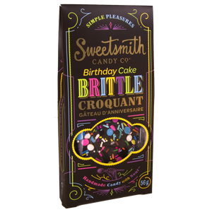SWEETSMITH CANDY CO - BIRTHDAY CAKE BRITTLE