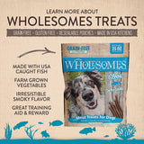 Wholesomes™ Cleo's Whiting Fish Jerky Sticks grain free 25oz