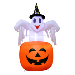 Halloween Decorations Inflatable Ghost Pumpkin Outdoor Terror Scary Props Inflatable Toy
