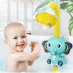 Bath Toys Baby Water Game Elephant Model Faucet Shower Electric Water Spray Toy