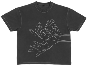 Give and Take T-Shirt (Dark Gray)