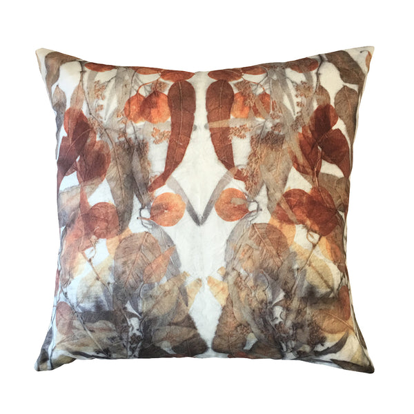 CUSHION - Cotton Satin - AUTUMN