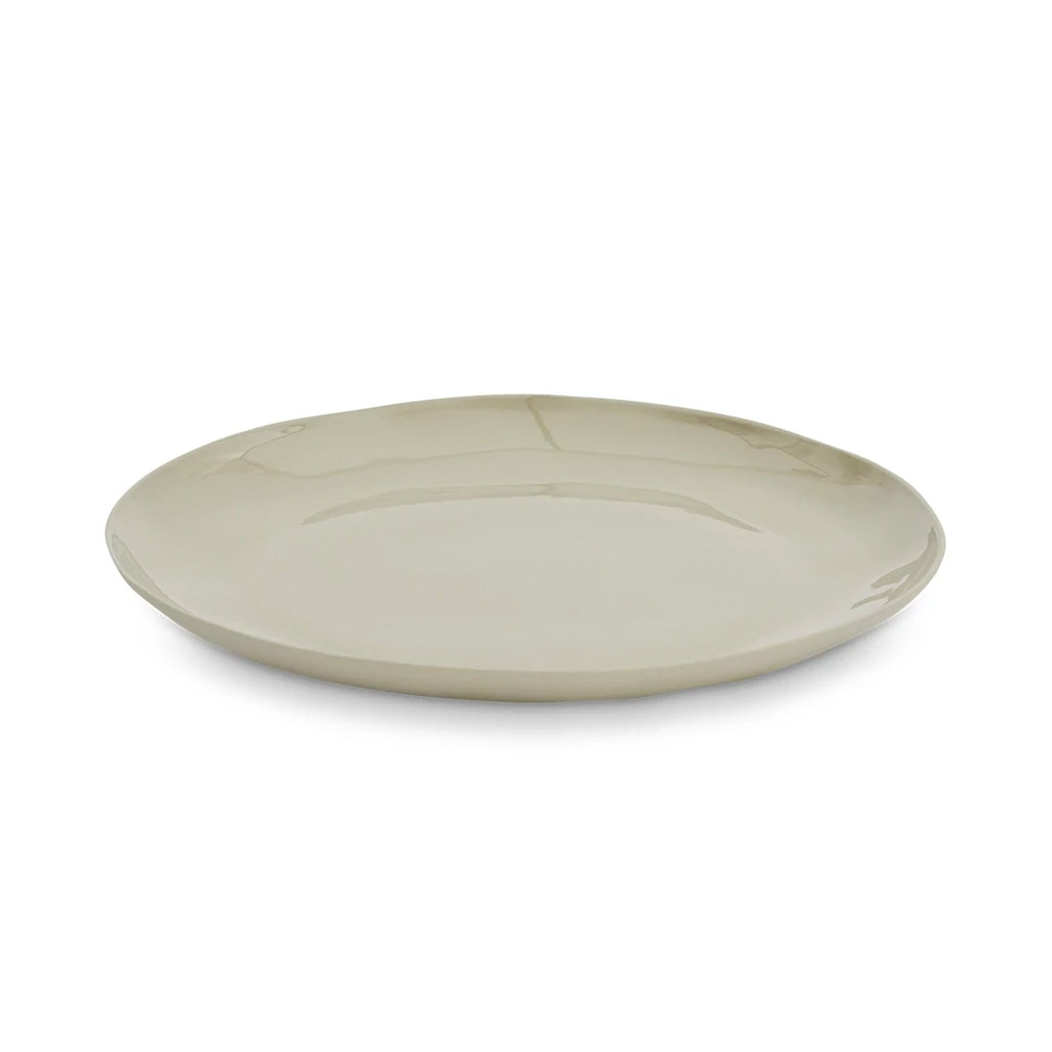 CERAMIC Side Plate- GREY - 25cm