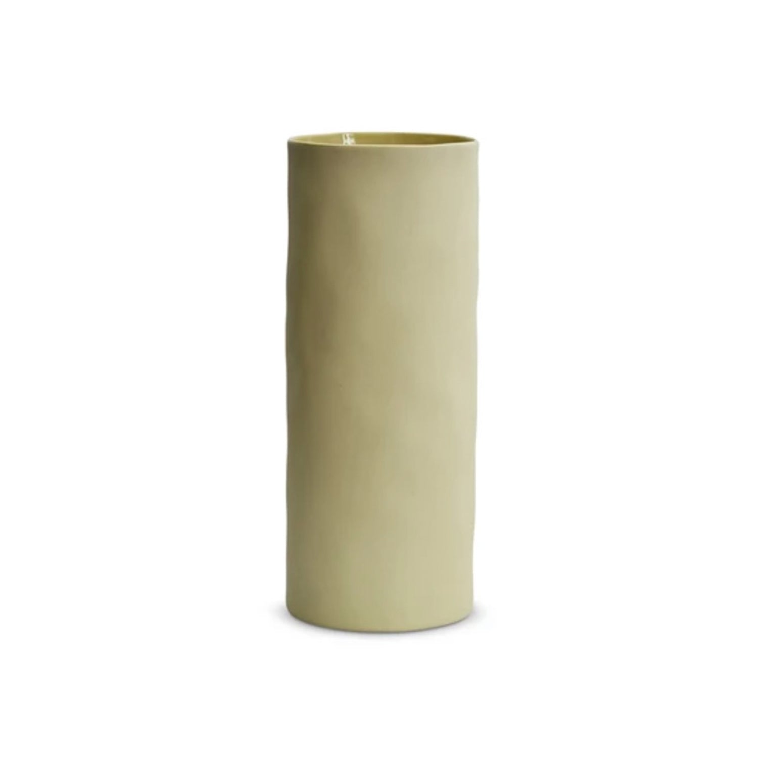 VASE - Cylinder ceramic - LEMON - XL