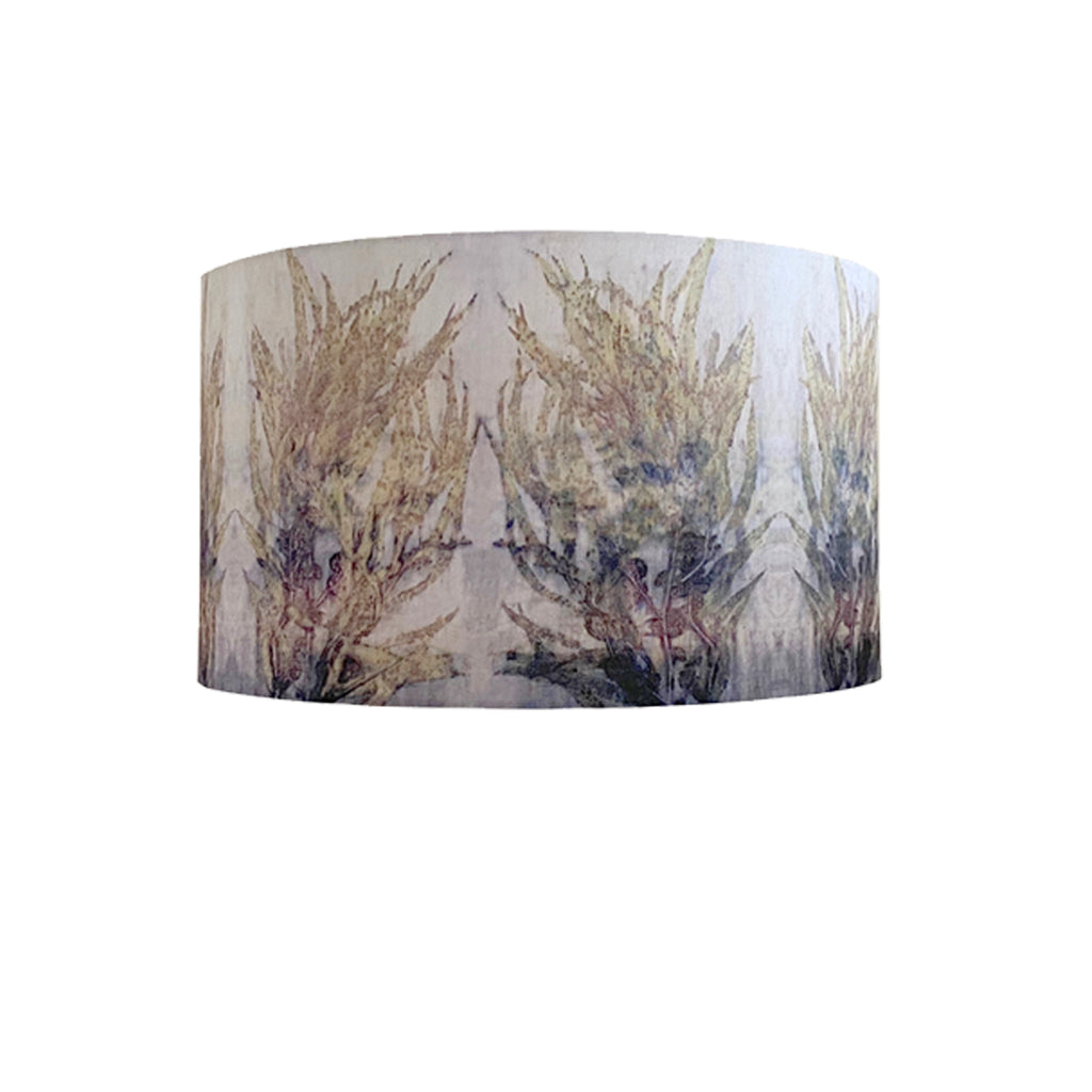 DRUM SHADE LGE - Cotton Digital - TRANQUIL