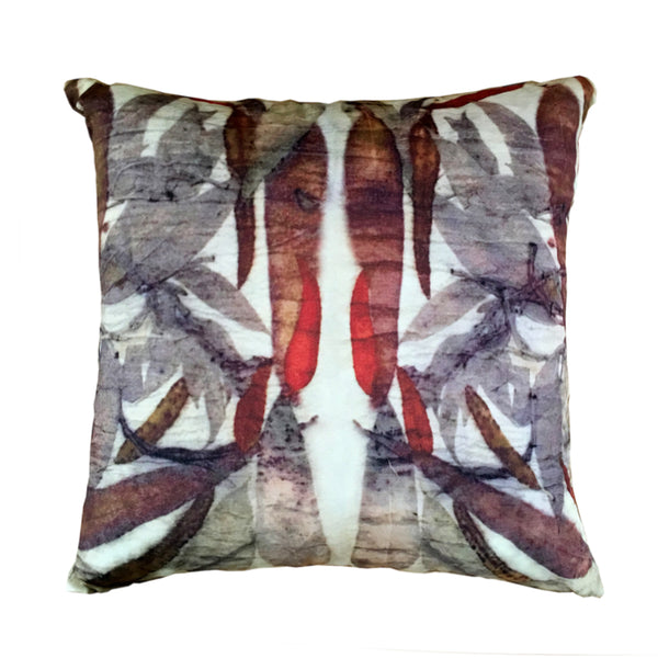 CUSHION - 50x50 Indoor - SNOWGUM RUST