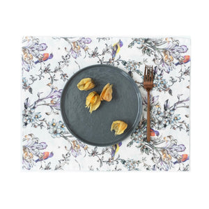 TABLE LINEN - Placemats Set of 4 - BIRDSONG