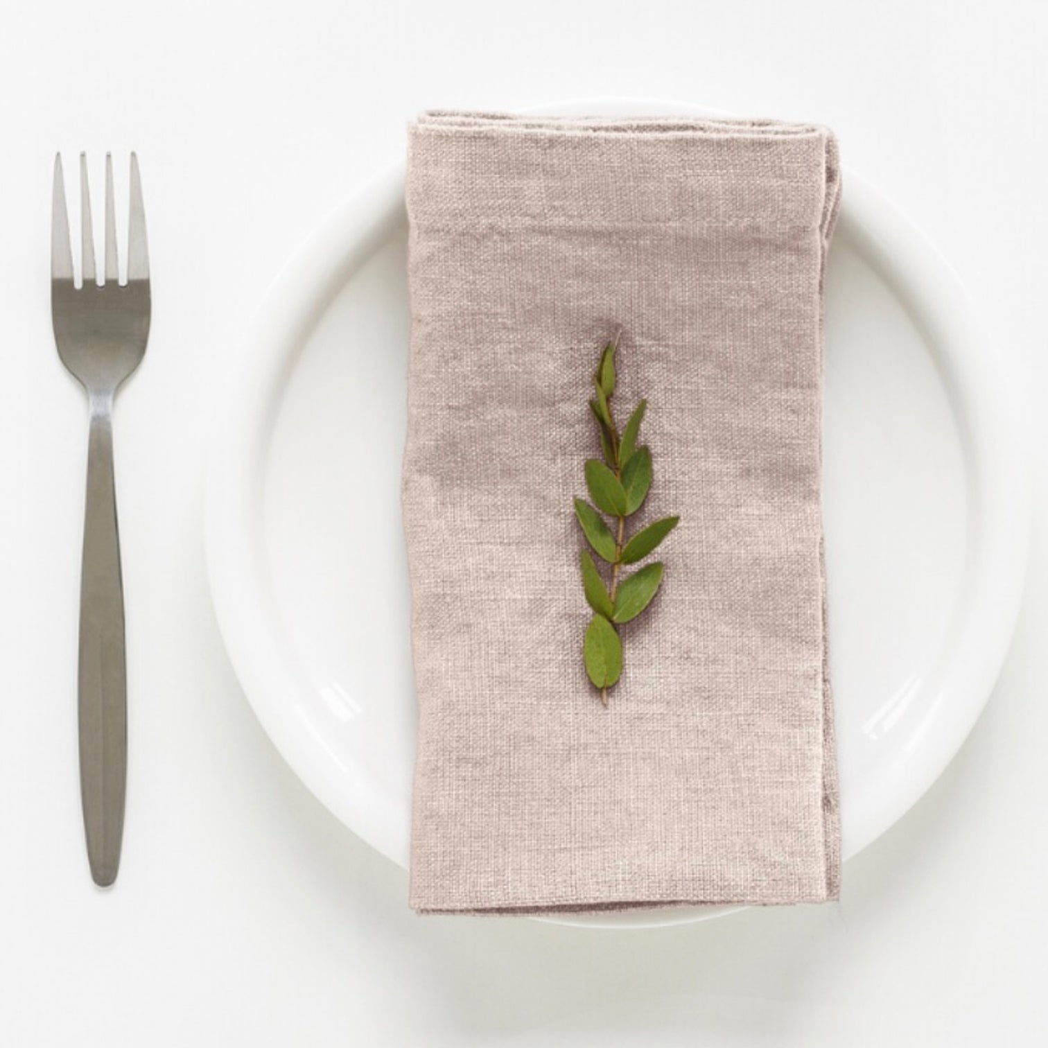TABLE LINEN - Napkins Set of 4 - GUM BARK