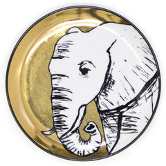ANIMALIA COASTERS- Gold and Black