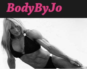 Body By Jo Website for Jo Rogers Bodybuilding Champion and Personal Trainer
