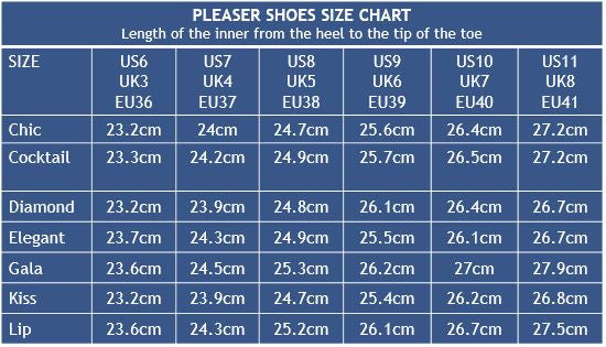 e9b6ee7883 Measurements are taken of the inside of the shoe from the back of the heel  to the tip of the toe.