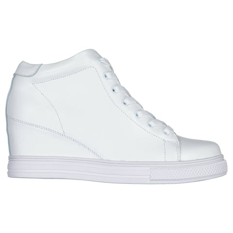 Leather Ankle Boots White - STREET SMART LEGACY CLOTHING