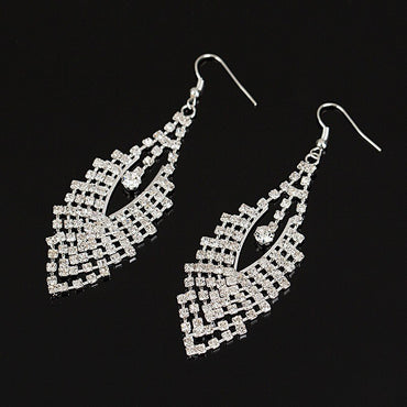 Silver Leaf Earrings - STREET SMART LEGACY CLOTHING