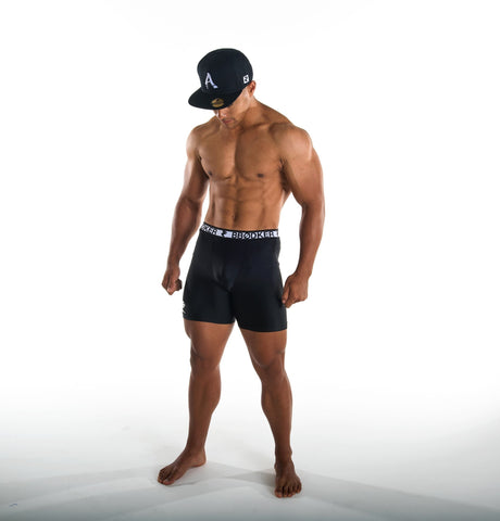 MENS 6 INCH COMPRESSION SHORTS