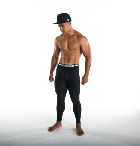 MENS FULL LENGTH COMPRESSION LEGGINGS