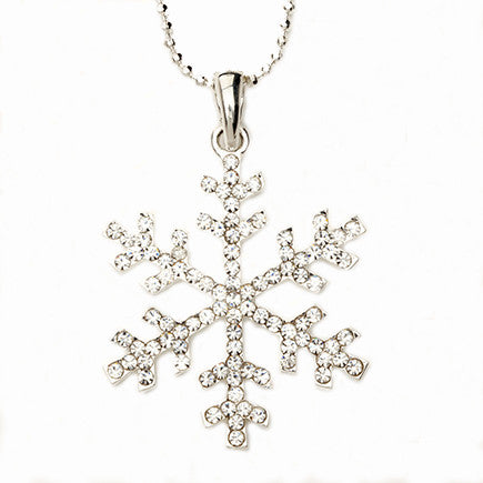 Snowflake Necklace Large