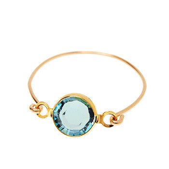 Stackable Ring Blue