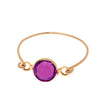 stackable rings purple