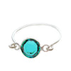Stackable Ring Turquoise Silver