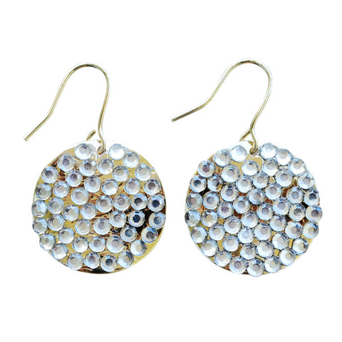 Sparkle Disk Earrings