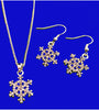 Snowflake Necklace Nautical