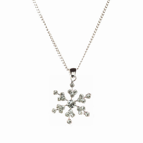 Snowflake Necklace Small