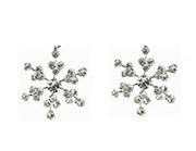 Snowflake Earrings Small Studs
