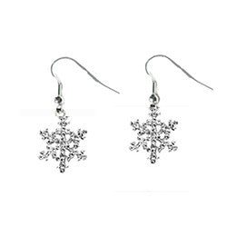 Snowflake Earrings Nautical