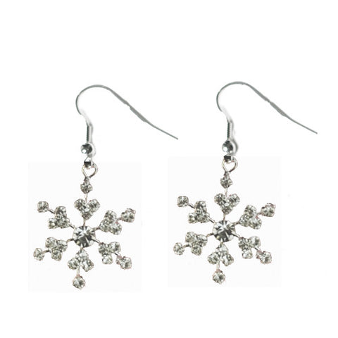 Snowflake Earrings Small