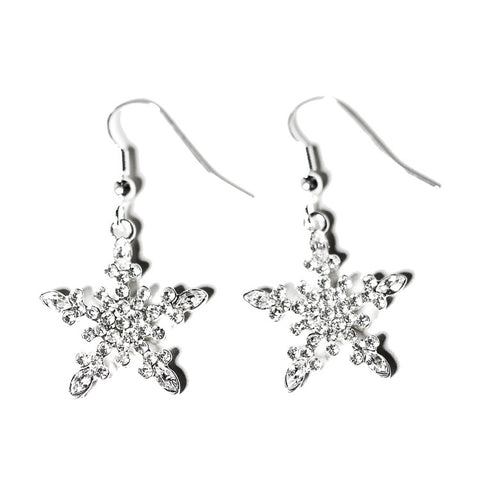 Snowflake Earrings Stars